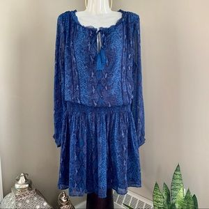 BANANA REPUBLIC, Boho Snake Print Dress